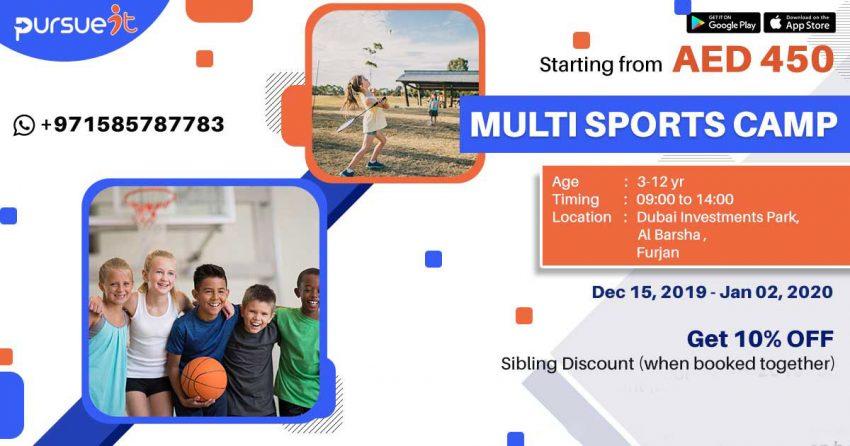 multi sports camp in dubai