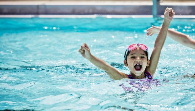 SWIMMING CAMP FOR KIDS (AGES 4 To 17)	- JVT
