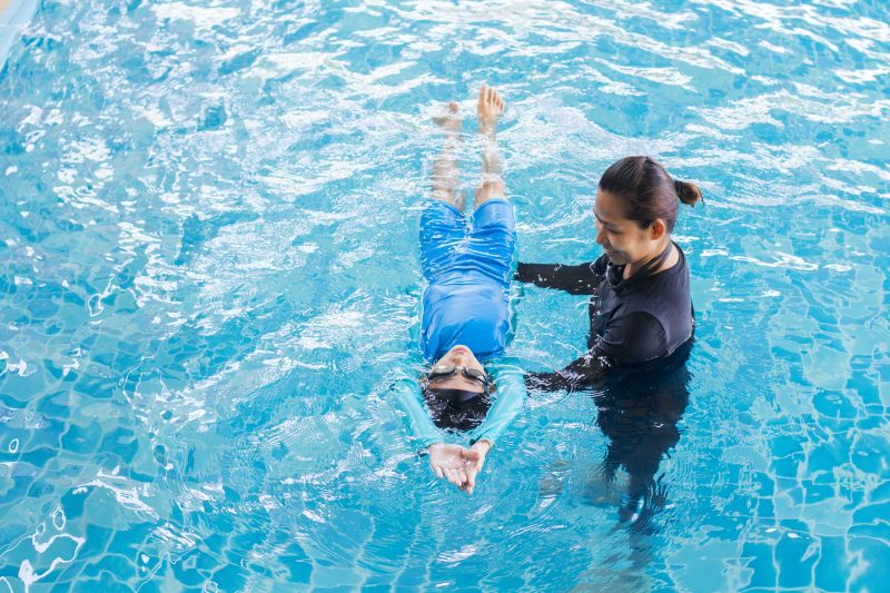 SWIMMING CAMP FOR KIDS (AGES 4 To 17)-JBR