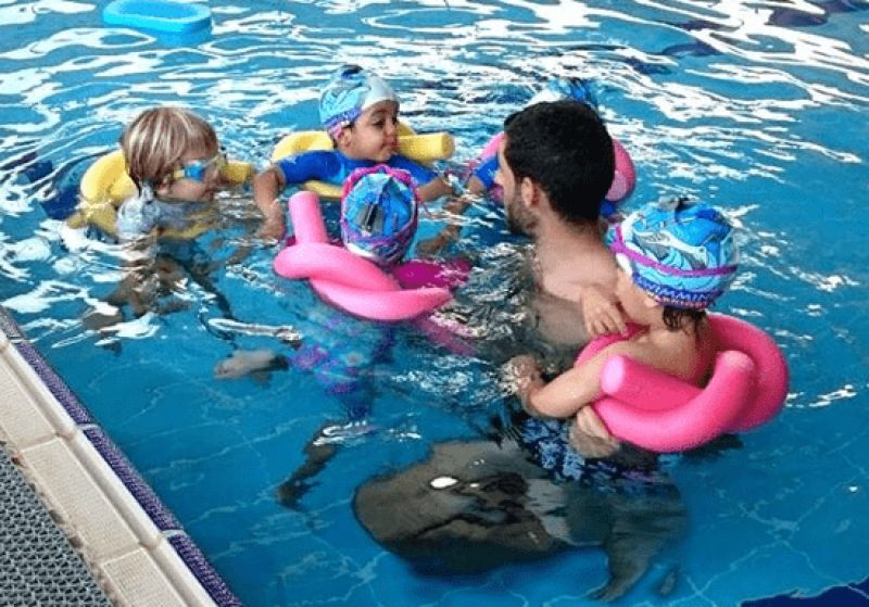 LITTLE SWIMMERS SPRING CAMP (2.5 to 4 YEARS) - JVT