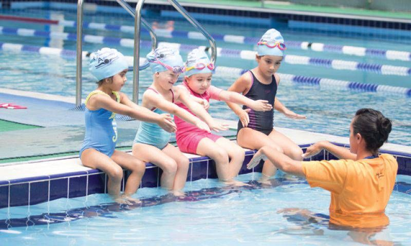 LITTLE SWIMMERS SPRING CAMP (2.5 To 4 YEARS) - JBR